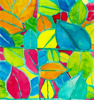pattern34-leaves