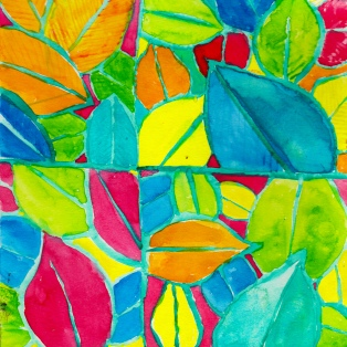 pattern34-leaves