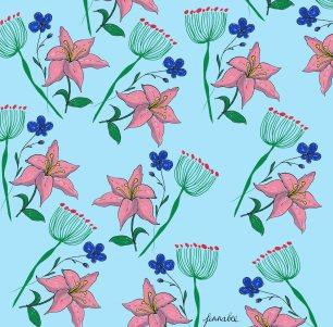 flowersposcapattern